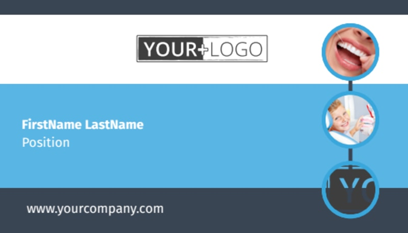 Your Family Dental Business Card Template Preview 2