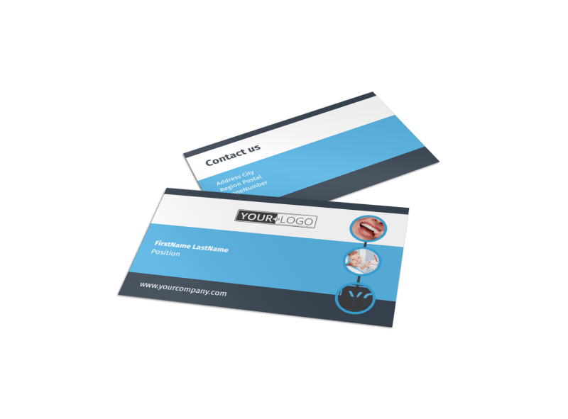 Your Family Dental Business Card Template Preview 1