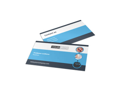 Your Family Dental Business Card Template preview