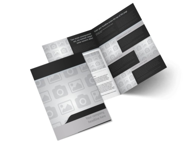 Generic Bi-Fold Brochure Template 7889