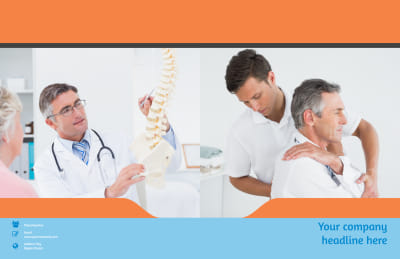 Chiropractic Clinic Brochure Template Preview 1