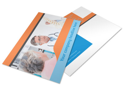 Massage & Chiropractic Office Postcard Template 2 preview