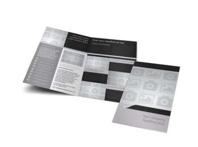 Generic Bi-Fold Brochure Template 7893