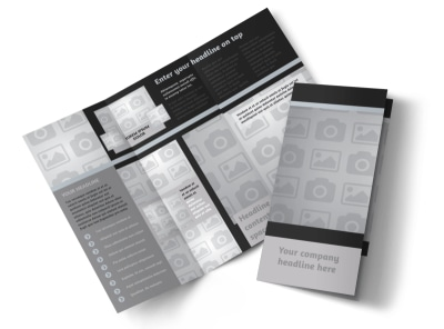 Generic Tri-Fold Brochure Template 7895