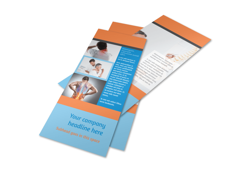 Chiropractic Clinic Flyer Template Preview 1