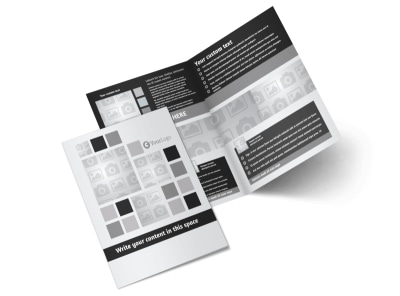Generic Bi-Fold Brochure Template 7898