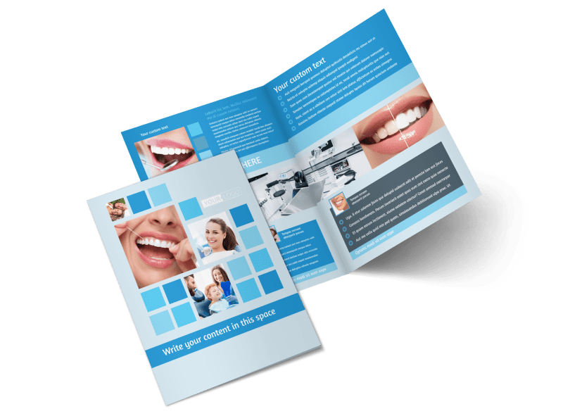 Dental Care Brochure Template Preview 1