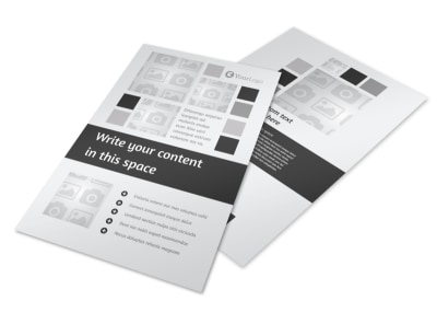 Generic Flyer Template 7900 preview