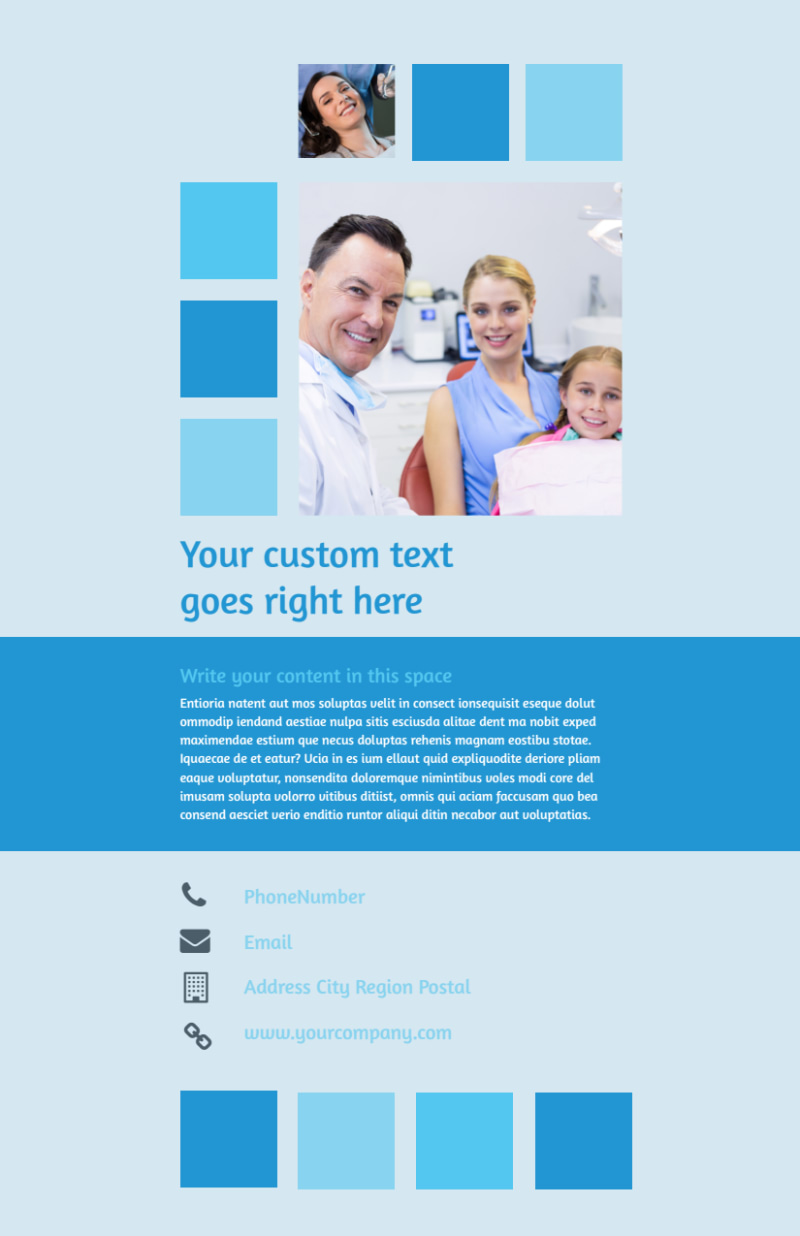 Dental Care Flyer Template Preview 3