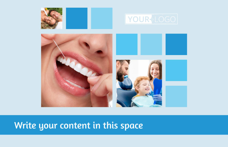 Dental Care Postcard Template Preview 2