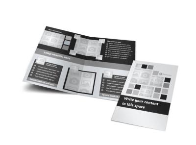 Generic Bi-Fold Brochure Template 7902