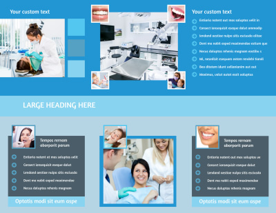 Dental Care Brochure Template Preview 2