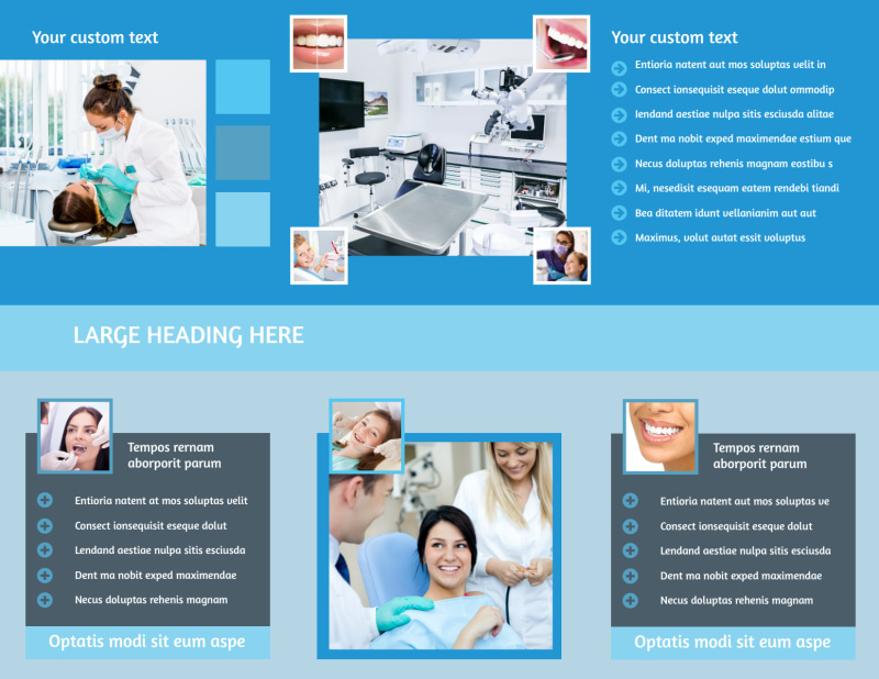 Dental Care Brochure Template Preview 3