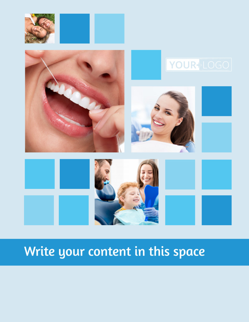 Dental Care Flyer Template Preview 2