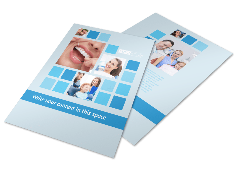 Dental Care Flyer Template Preview 1