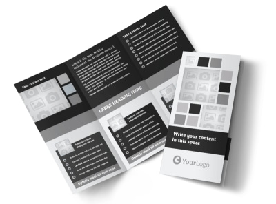 Generic Tri-Fold Brochure Template 7904
