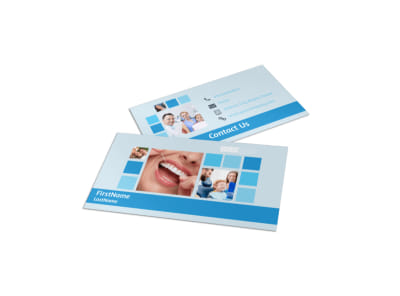 Dental Care Business Card Template preview