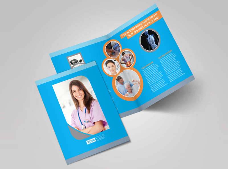 Medical Clinic Brochure Template 2