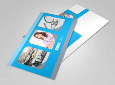 Medical Clinic Postcard Template 2