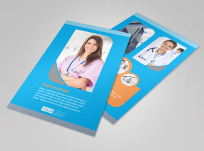 Medical Clinic Flyer Template 3