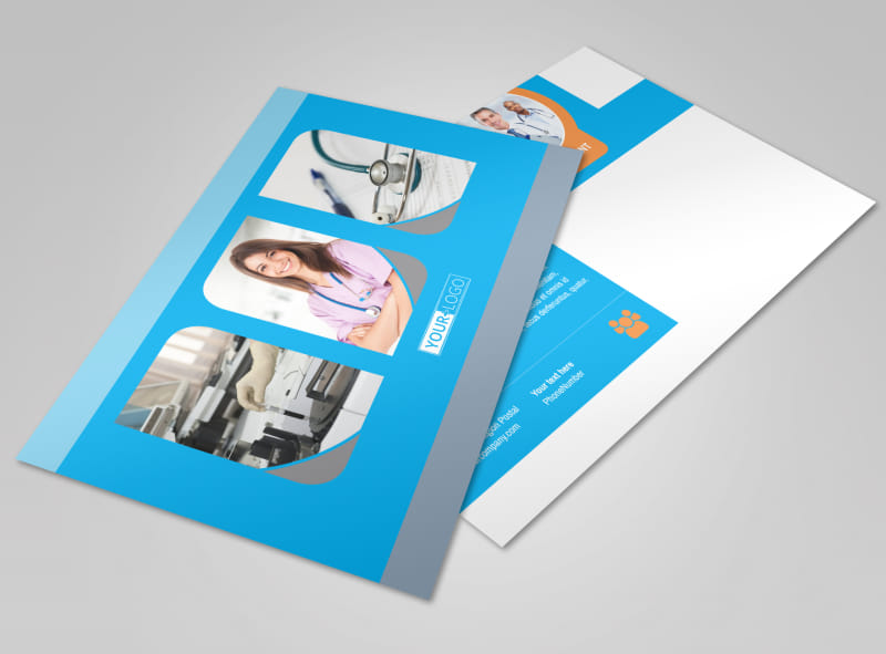 General Medical Service Postcard Template Preview 4