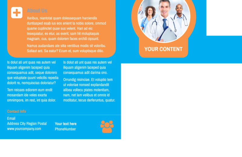 General Medical Service Postcard Template Preview 3
