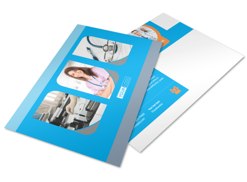 General Medical Service Postcard Template Preview 1