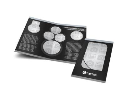 Generic Bi-Fold Brochure Template 7911