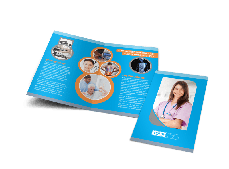 General Medical Service Brochure Template Preview 1