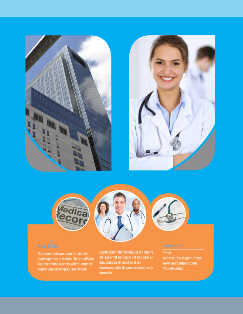 General Medical Service Flyer Template Preview 3