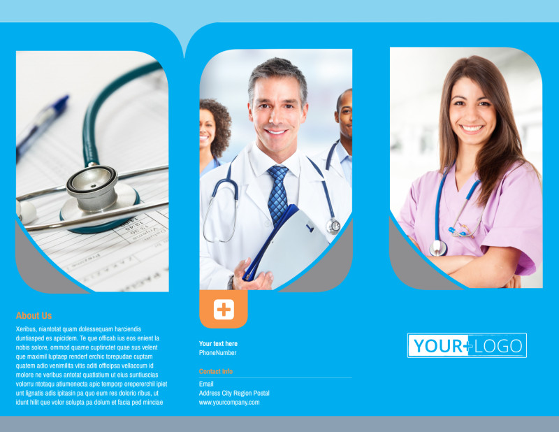 General Medical Service Brochure Template Preview 2