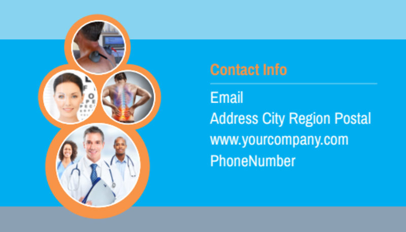 General Medical Service Business Card Template Preview 3