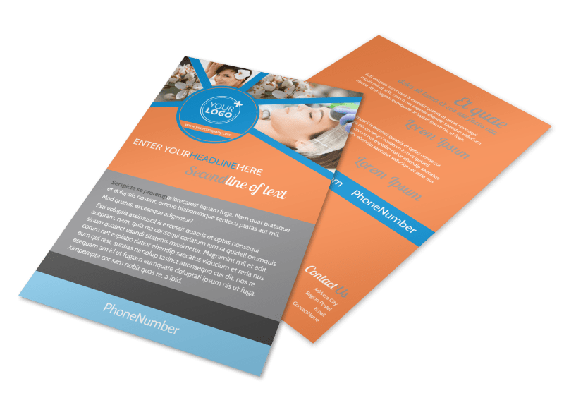 Skin Care Flyer Template Preview 1