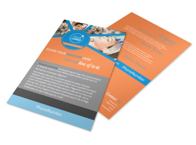 Skin Care Flyer Template 3