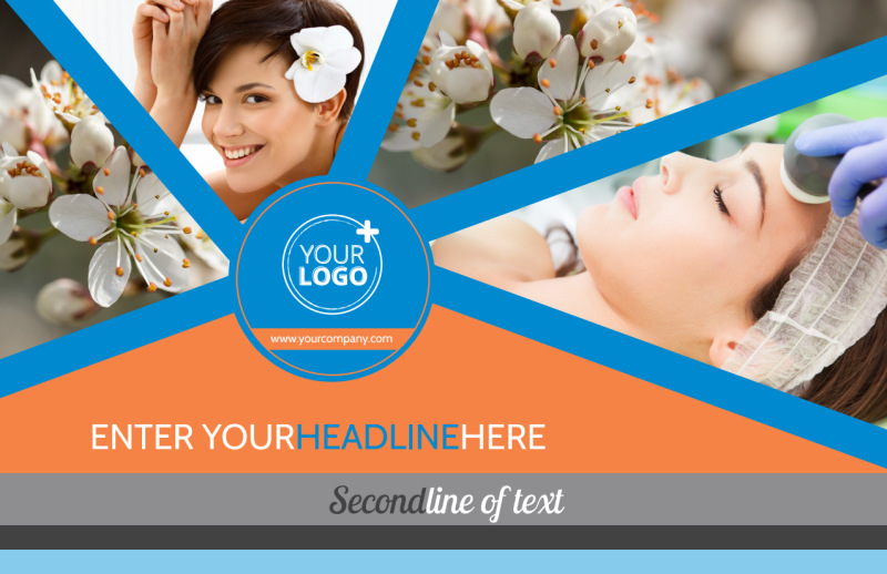 Skin Care Postcard Template Preview 2