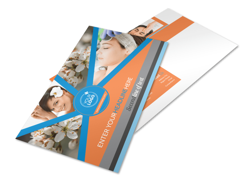 Skin Care Postcard Template Preview 1