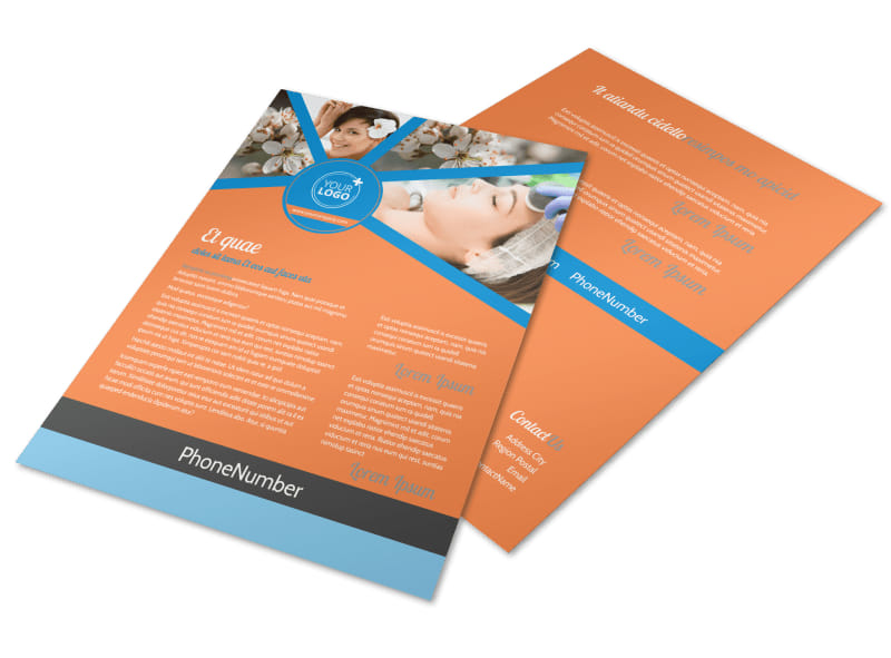 Skin Care Flyer Template Preview 4
