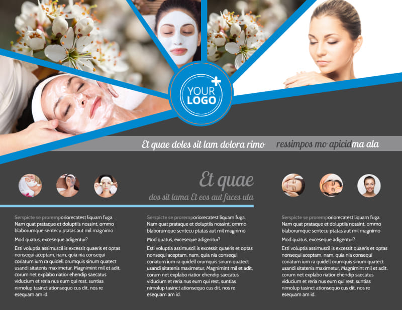 Skin Care Brochure Template Preview 3