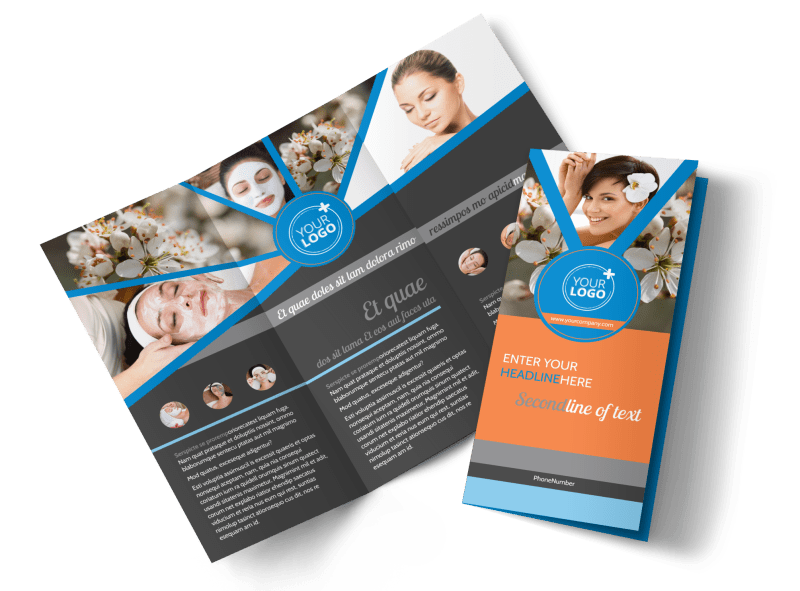 Skin Care Brochure Template Preview 1