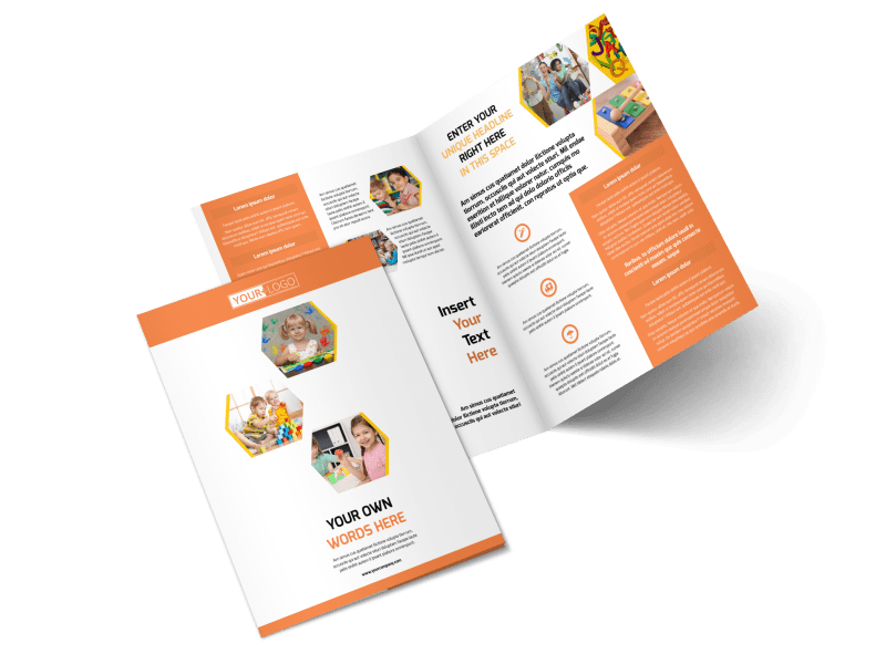 Creative Child Development Brochure Template Preview 1
