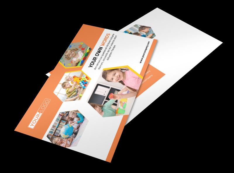 Creative Child Development Postcard Template Preview 1