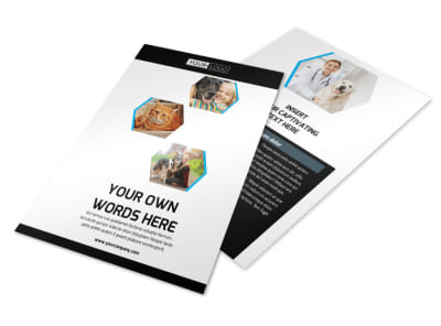 Animal Shelter & Pet Adoption Agency Flyer Template 3 preview