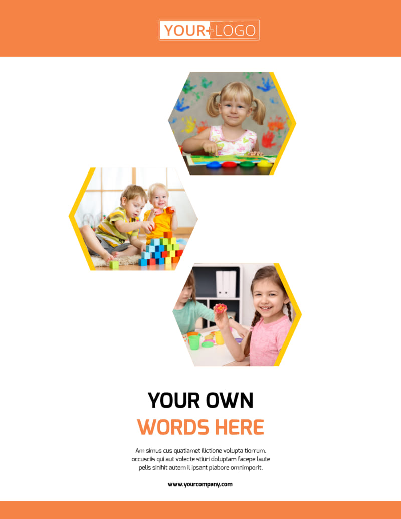 Creative Child Development Flyer Template Preview 2