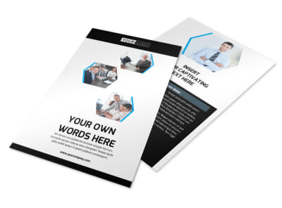 Elite Business Consulting Flyer Template 3