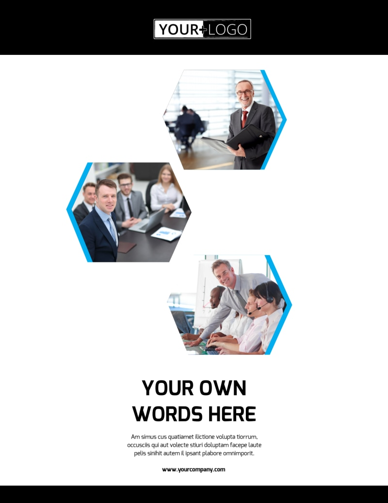 Elite Business Consulting Flyer Template Preview 2