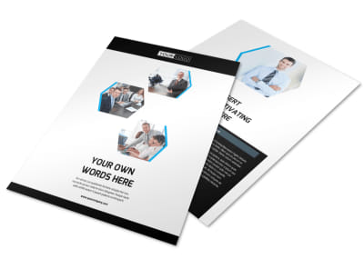 Elite Business Consulting Flyer Template