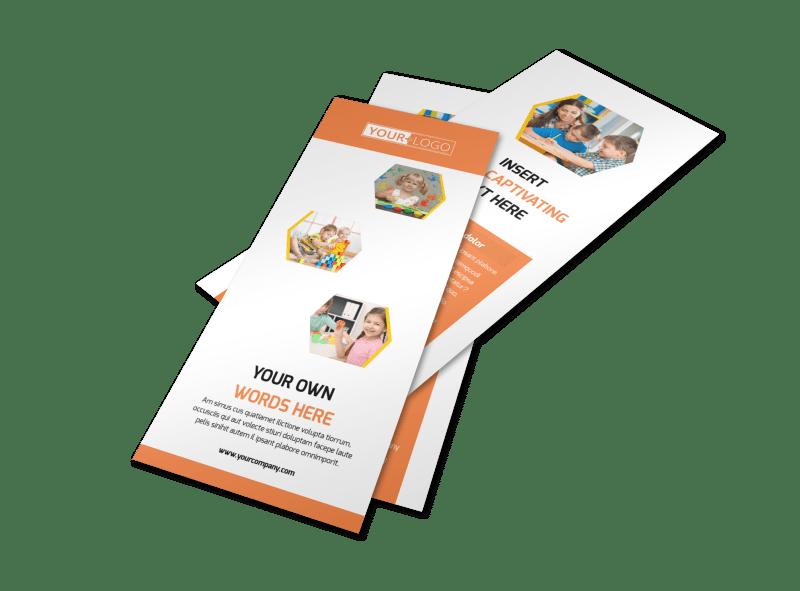 Creative Child Development Flyer Template Preview 1