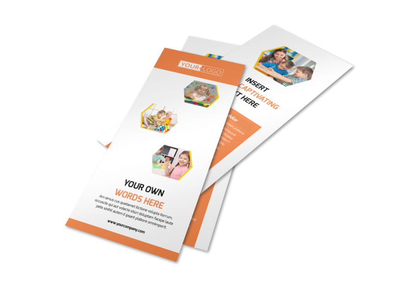 Child Development School Flyer Template 2
