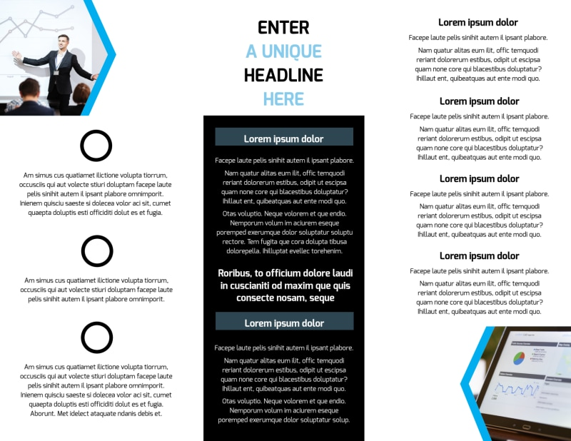 Elite Business Consulting Brochure Template Preview 3