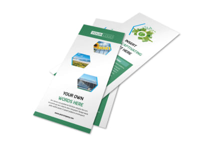 Green Energy Technology Flyer Template 2